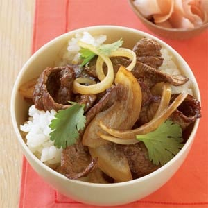 Fast & Easy Dinner: Japanese Beef Bowl