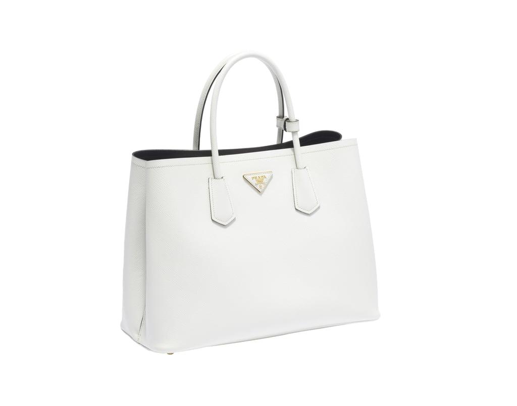 how to tell a fake prada purse - Prada Double Bag Review | POPSUGAR Fashion