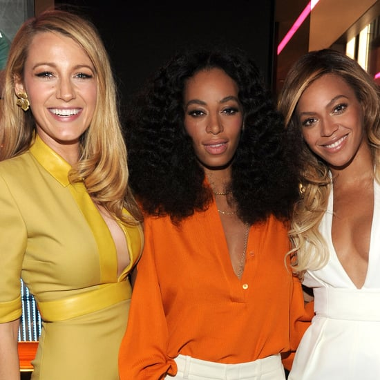 Beyonce and Blake Lively at Chime For Change Event