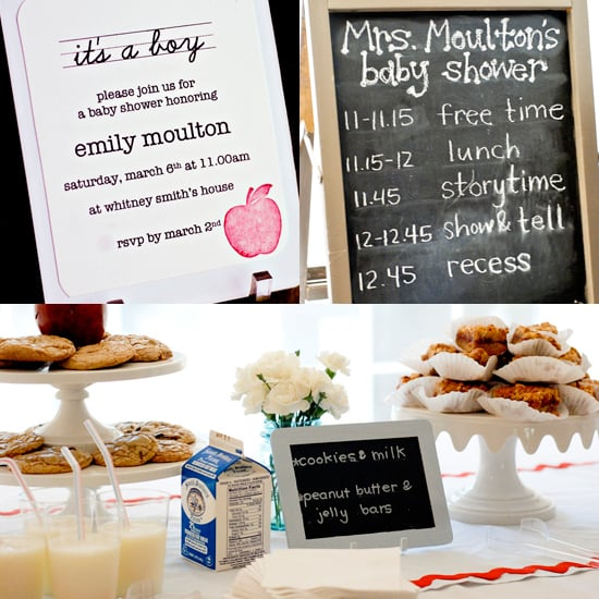 A School Theme Baby Shower For a Teacher and Mama-to-Be