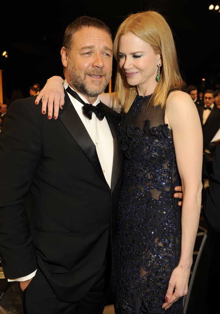 Nicole Kidman posed with pal Russell Crowe.