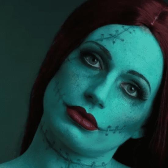 Tim Burton Halloween Makeup DIY