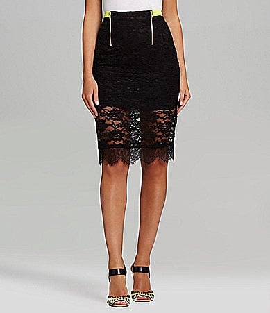 This Gibson & Latimer Lace Pencil Skirt ($64) isn't just for special occasions — pare it down with a chambray button-down and a pair of strappy sandals for a casual date night.