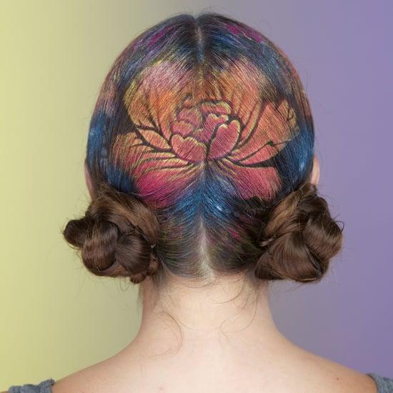 Hair Stencil DIY Video