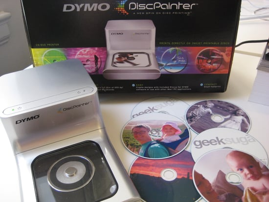 Test Drivin' the Dymo DiscPainter