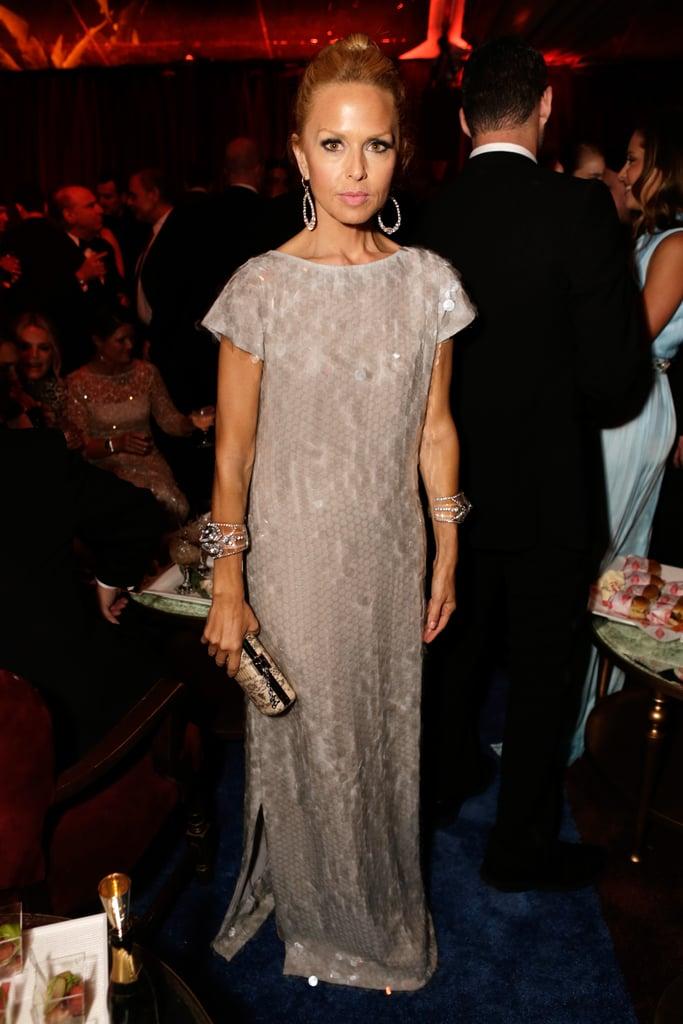 A-list celebrity stylist Rachel Zoe made a trendy pitstop at the fancy Weinstein affair.