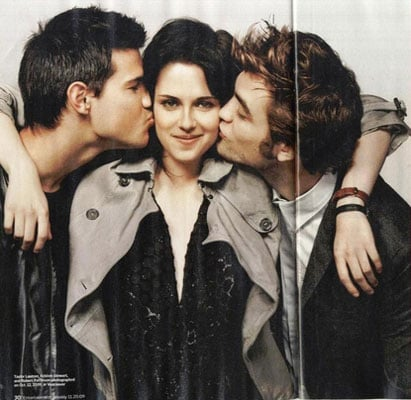 Photos of Kristen, Rob and Taylor Inside EW