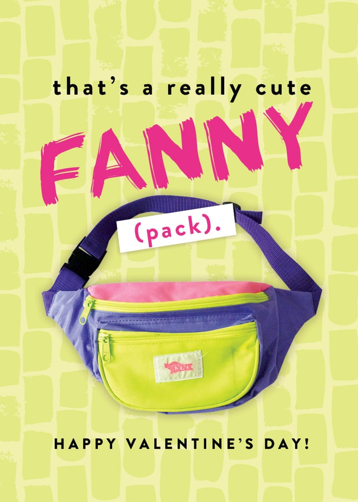 That's a really cute fanny (pack).