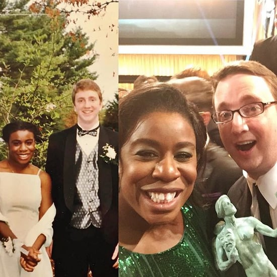 Uzo Aduba Takes Prom Date to SAG Awards 2016