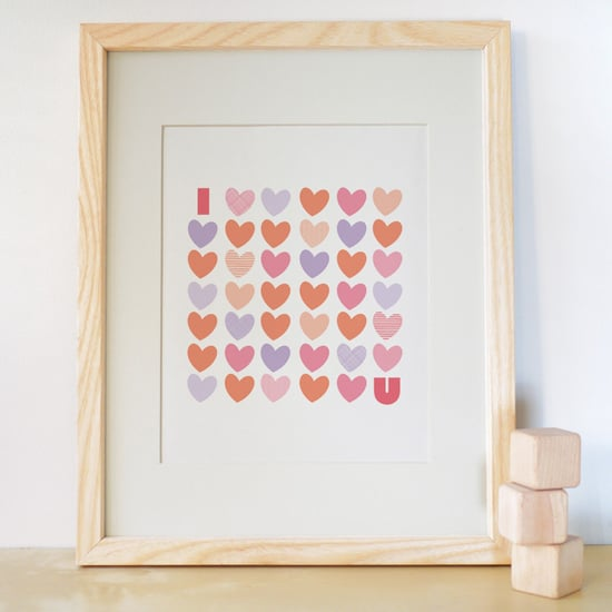 Love Prints For Kids' Rooms