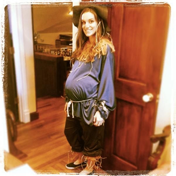 Pregnant Scarecrow