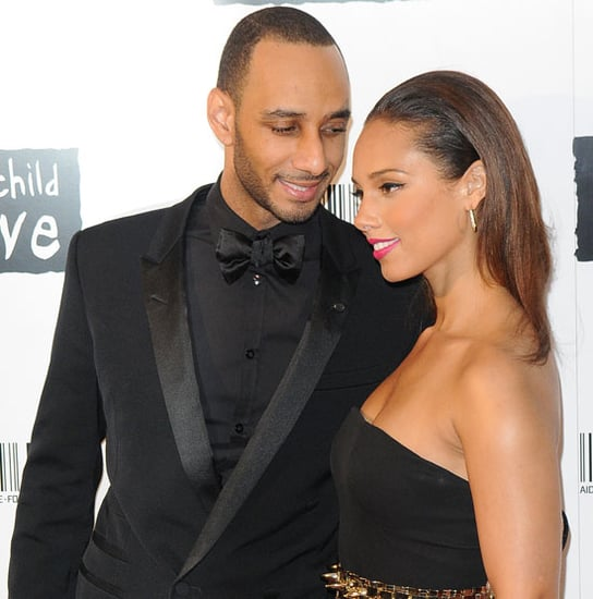Alicia Keys Pictures With Swizz Beatz at the Keep a Child Alive Ball