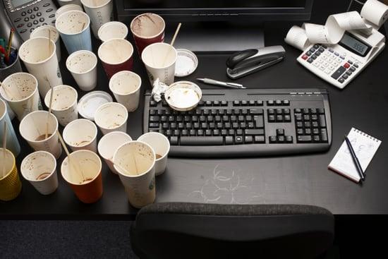 Keeping Desk Space Clean