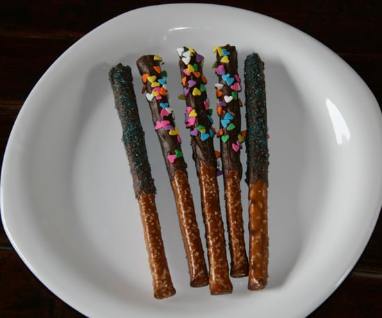 Fancy Chocolate Covered Pretzels