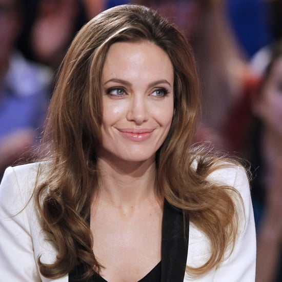 Angelina Jolie Pictures on Le Grand Journal