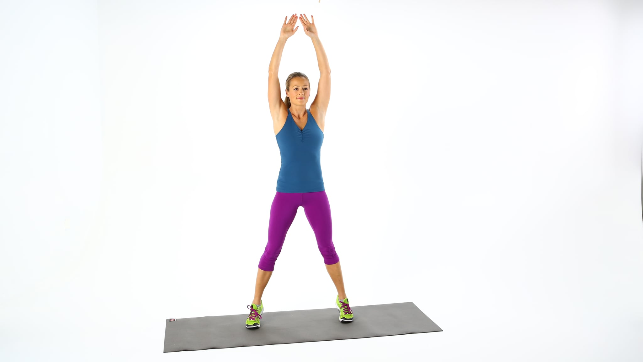 Jumping Jacks   This 7-Minute Workout Helps Target Belly ...