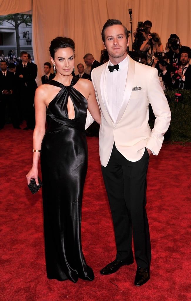Armie Hammer and his wife, Elizabeth Chambers, hit the carpet after attending the Kentucky Derby over the weekend.