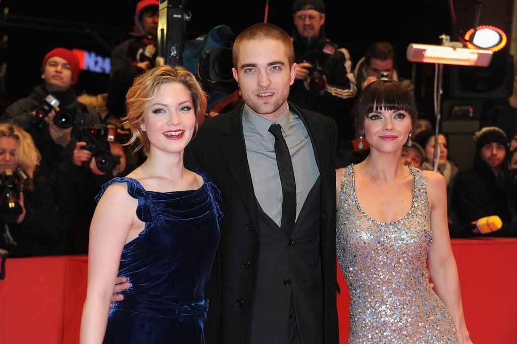 The three stars strike a pose together.