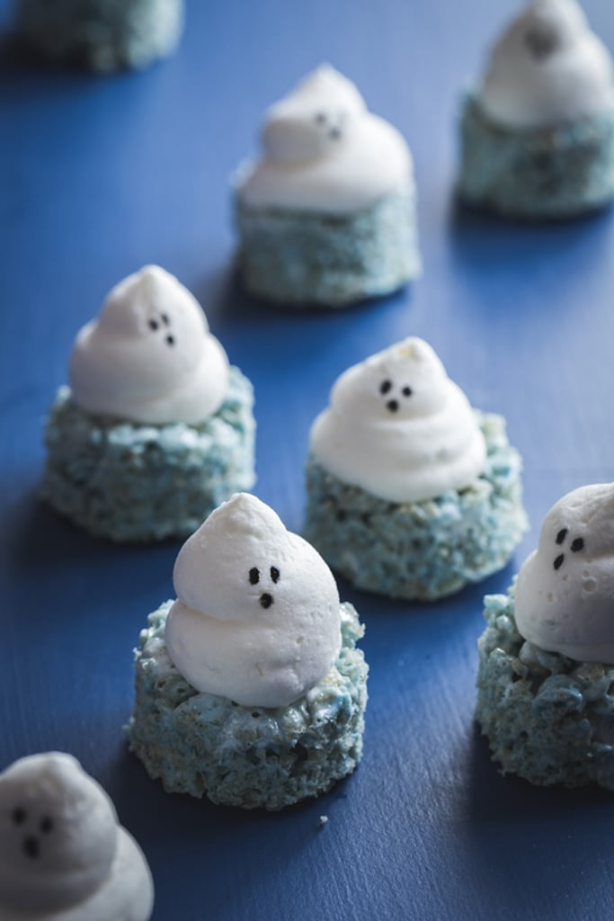 Ghost Marshmallow Treats