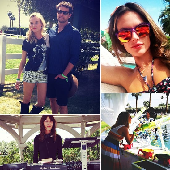 The Most Stylish Celebrity Candids From Coachella