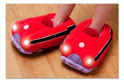 Love It or Leave It? Illuminating Car Slippers