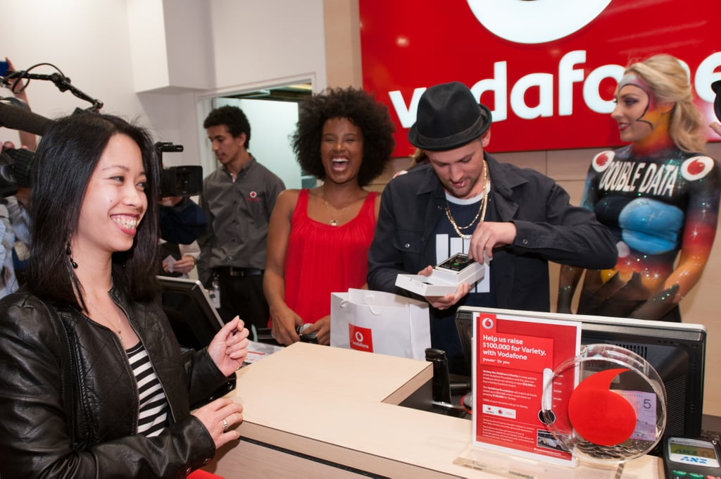 Joel Madden Gets Involved With the Samsung Galaxy S III Launch in Sydney
