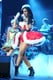 Katy donned a sexy Santa Claus costume during the Y100 Jingle Ball in December 2011 in Sunrise, FL.