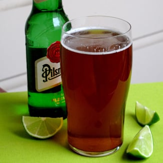 St. Patrick's Day Lime Shandy Recipe