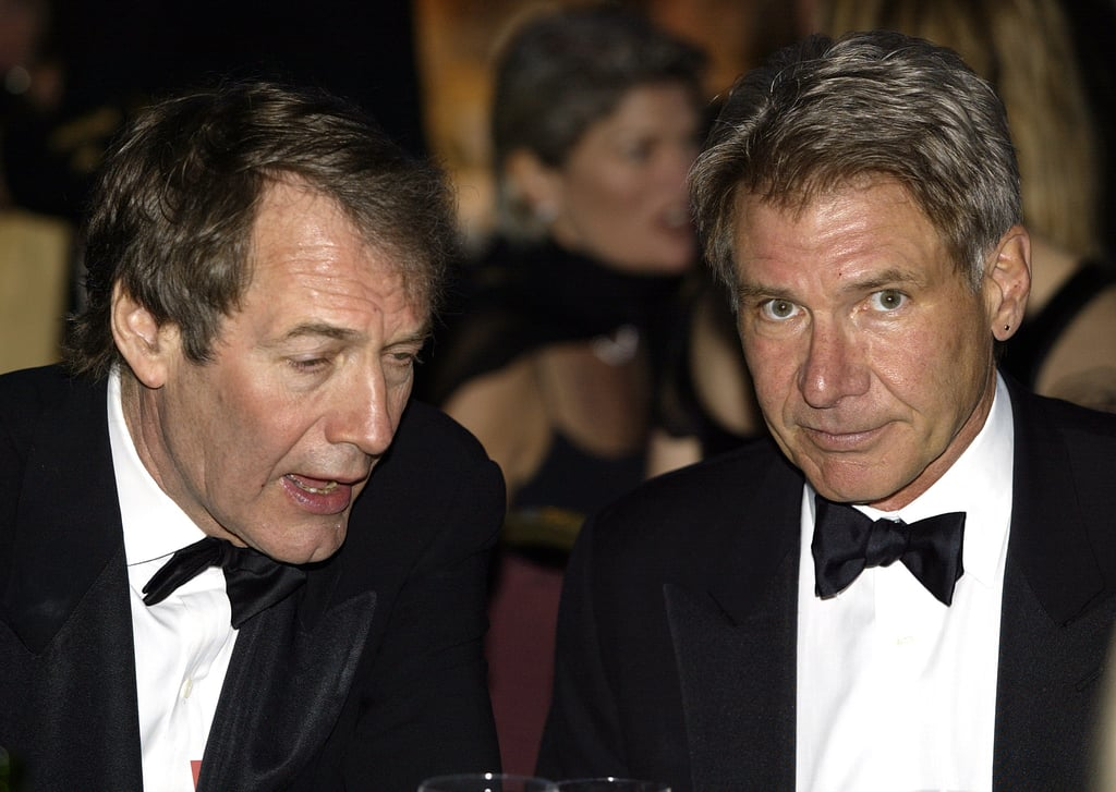 Harrison Ford and Charlie Rose
