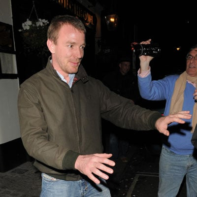 Guy Ritchie Out in London