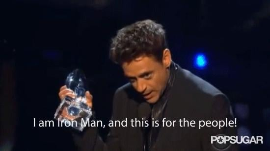 When Robert Downey Jr. Became Iron Man Before Our Eyes