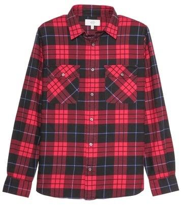 Jack Spade Spencer Flannel Shirt