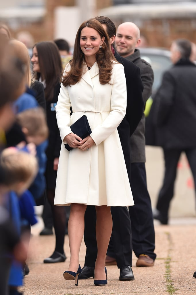 Kate Middleton at Ben Ainslie Racing in 2015