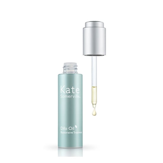 During the Summer, I love to lighten up my beauty load, which is why I've been swooning over Kate Somerville's Dilo Oil ($65). This tube holds the perfect oil for gently hydrating my face, body, hair, and cuticles. The Dilo oil comes from a rare nut found on Fiji, and it's full of fatty acids for improving your skin's health. Since its lipid structure is similar to that of your skin, it absorbs quickly, leaving you with hydrated, dewy skin. Nailing that Summer glow just got a whole lot easier. — KD