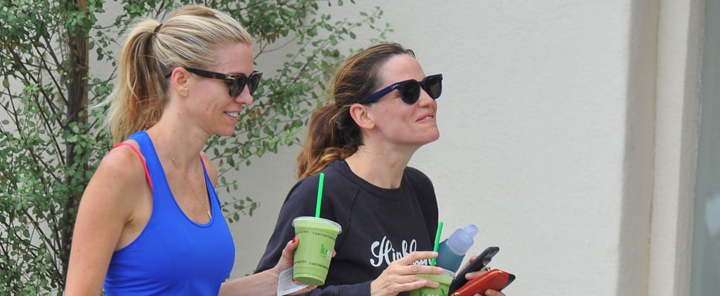 Jennifer Garner's Latest Outing Will Inspire You to Stop and Smell the Roses Once in a While