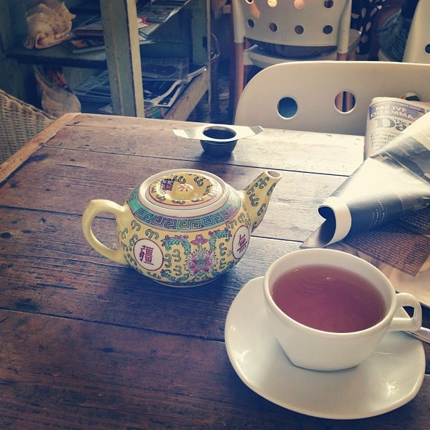 7am starts mean 4pm finishes. . . which mean Ali has time for a quick tea at Kawa in Surry Hills on her way home!