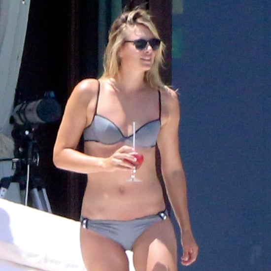 Maria Sharapova in a Bikini With Her Boyfriend in Mexico
