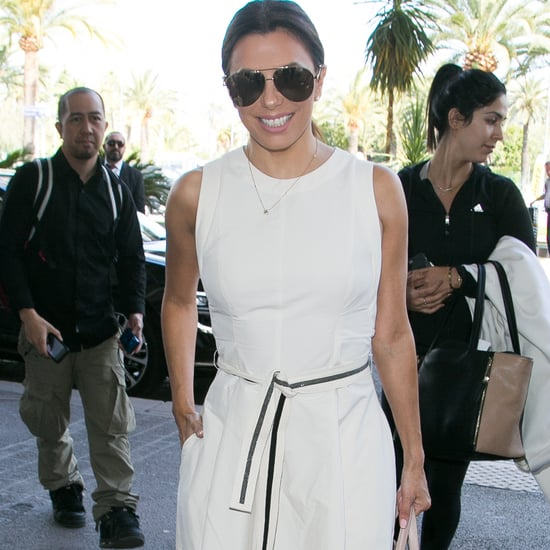 Eva Longoria With Her Suitcases Picture August 2016