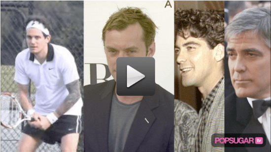 John Mayer in Short Shorts, George's Many Hairstyles, and Jude Talks Non-Engagement