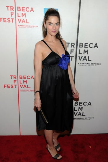 Amanda Peet Out After Having Baby