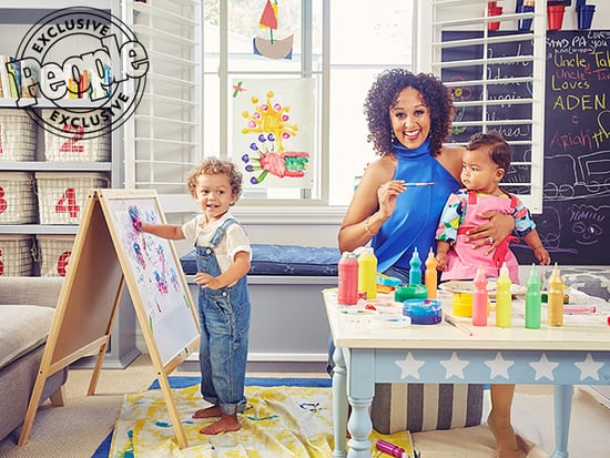 Tamera Mowry-Housley Loves Finger Painting with Her Kids: They've 'Taught Me How to Have Fun in the Most Simple Moments'