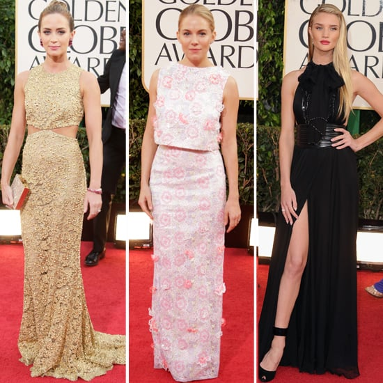 Golden Globes British Hair, Beauty and Red Carpet Style