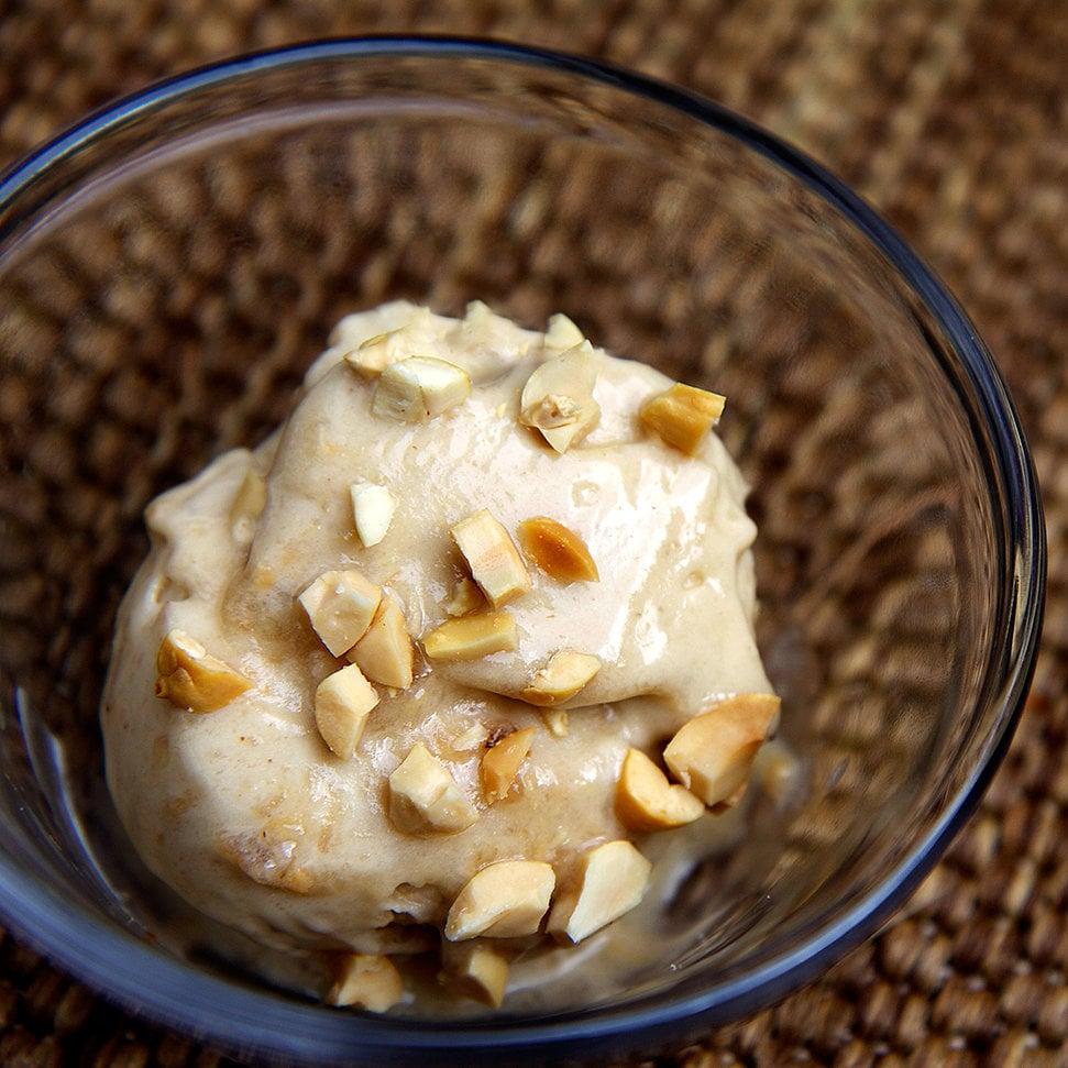 Banana Peanut Butter Ice Cream