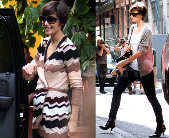 """Photos of Katie Holmes Rehearsing All My Sons; Tom Cruise Calls Suri """"Charming"""""""