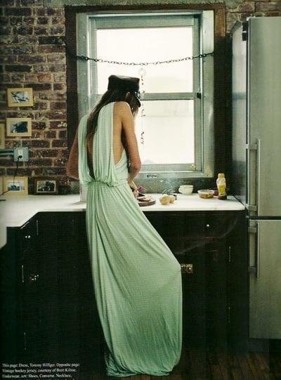 Daria Werbowy in Dossier #5 Spring/Summer 2010