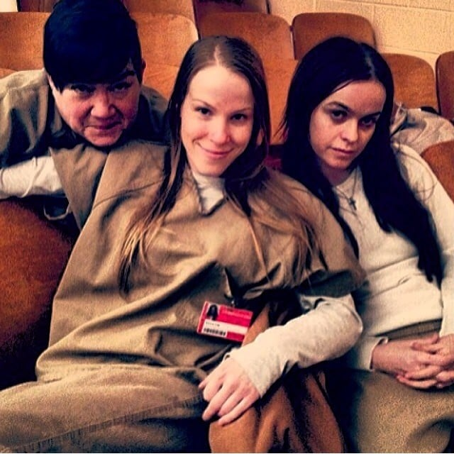 The inmates pose for a quick shot. Source: Instagram user tarynmanning