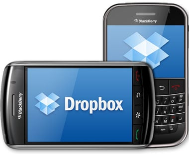 New Dropbox App For Blackberry