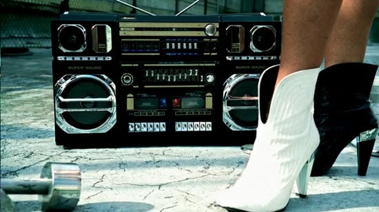 Old-School Boom Box