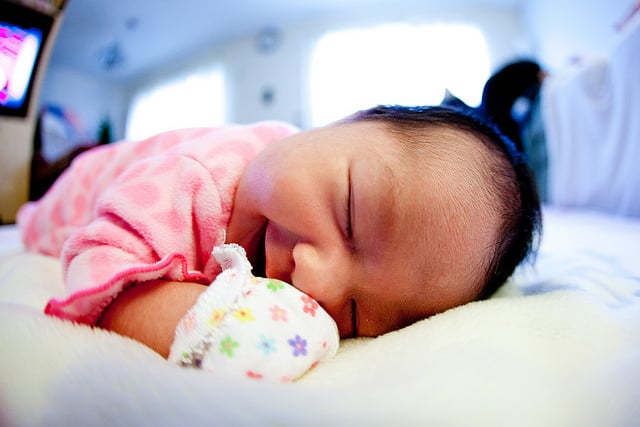 Catch a Nap When Your Baby Is Sleeping