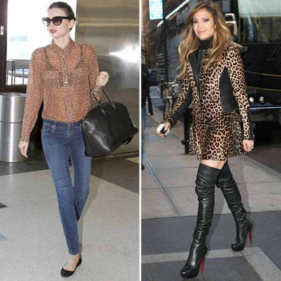How to Wear Leopard (Celebrity Style)